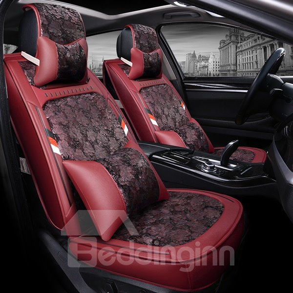 New Fashion Most Popular Floral Pattern Design Dedicated Car Seat Cover