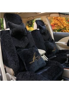 Warm And Comfortable Plush Material Special Design Dedicated Car Seat Cover