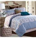 Ethnic Style Damask Print 4-Piece Cotton Duvet Cover Sets