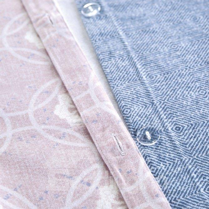 Ethnic Style Damask Print 4-Piece Cotton Duvet Cover Sets