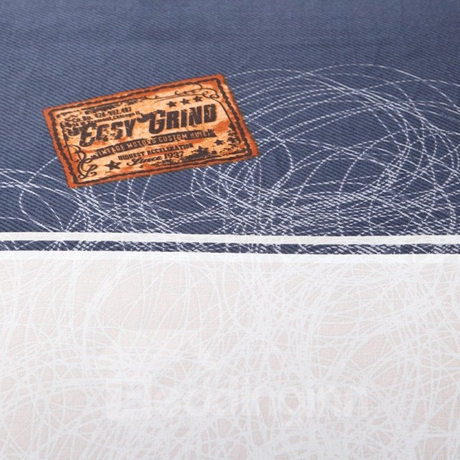 Minimalist Style Plaid Print 4-Piece Cotton Duvet Cover Sets