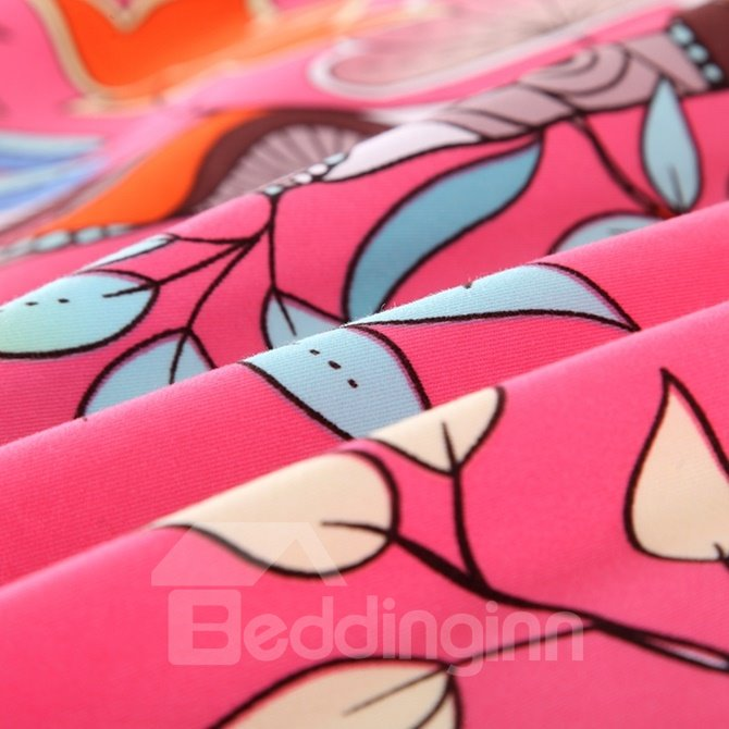 Creative Tree Design 4-Piece Cotton Duvet Cover Sets