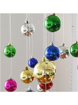 Festival Christmas Decoration Muticolor Christmas Ball