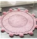 Fashion Three Colors for Choose Round Rug