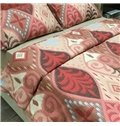 Creative Tree Print Brushed Cotton 4-Piece Duvet Cover Sets