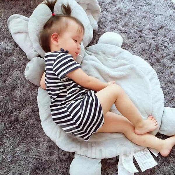 Super Cute Elephant Shape Home Decoration Baby Rug