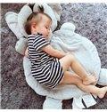 Super Cute Elephant Shape Home Decoration Baby Rug