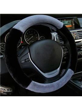 Classic Fashion Popular Contrast Color Design Universal Car Steering Wheel Cover