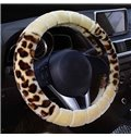 Super Quality Cost-Effective Contrast Color Fashion Design Universal Car Steering Wheel Cover