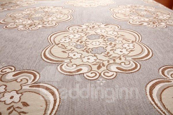 Modern Simple Chenille Flower Print Four Seasons Home Decorative Sofa Covers