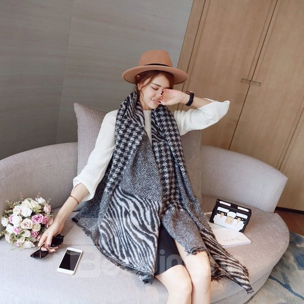Fashion Lady Warm Long Large Winter Autumn Cashmere Popular Scarves