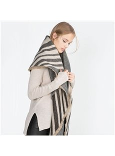 Fresh And Comfortable Cashmere Warm Square Scarves