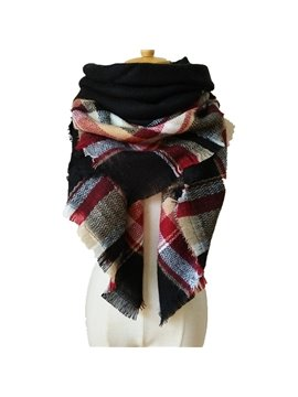 Special Hit Color Design Charming Warm Cashmere Long Scarves