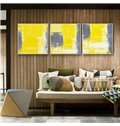 Irregular Multicolor Pattern None Framed 3-pieces Wall Art Prints