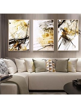 Abstract Modern Creative Watercolour Pattern 3-pieces None Framed Wall Art Prints