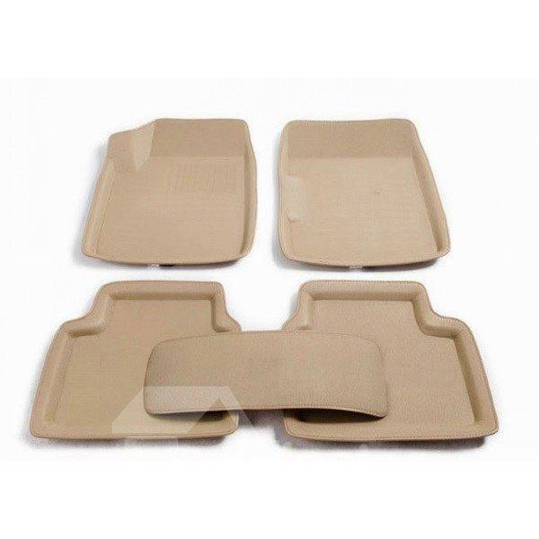3D Dimensional Design Simple Style Design Functional Universal Car Carpet