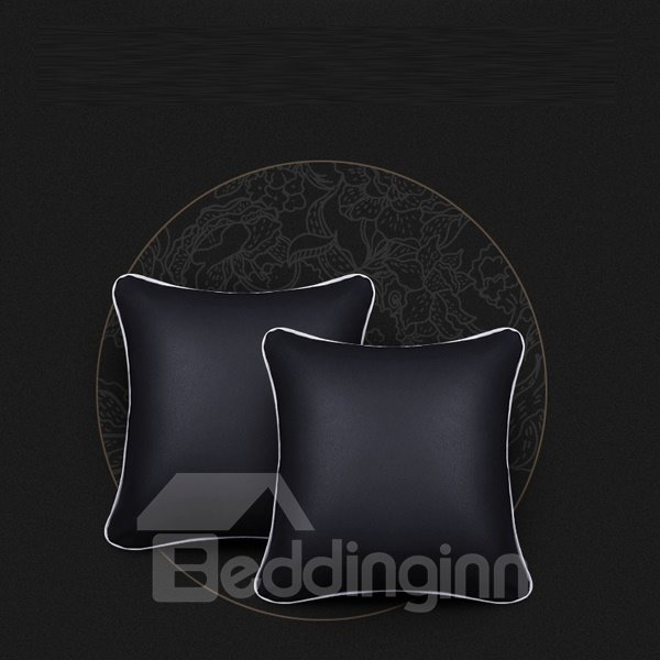 Super Comfortable Leather PU 4-Pieces Cost-Effective Car Pillow