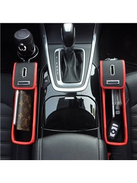 Multifunction Put Debris And The Cups Fashion Style Design Single Front Car Side Organzier