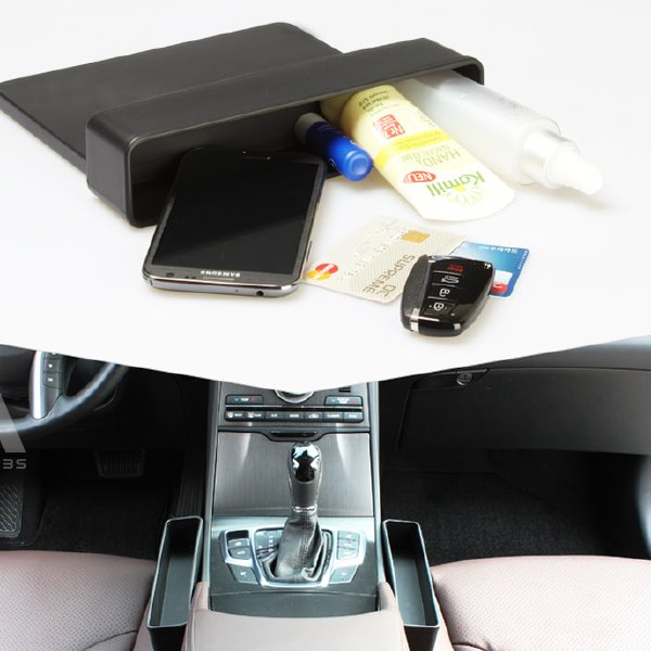 High Capacity Special Design 1-Pair Front Car Side Organizer