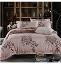 Fancy Pastoral Style 100% Cotton 4-Piece Duvet Cover Sets