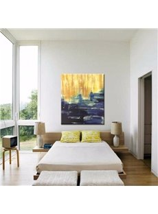 Impressionism Sunset Beach Scenery Pattern Canvas Stretched None Framed Oil Painting