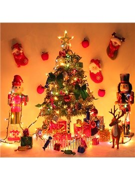 Luxury Home Christmas Tree Decoration with Little Candy and Gift Box Desktop Decoration