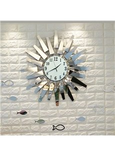 Modern Simple Creative 20 Inches Battery Home Decorative Wall Clock