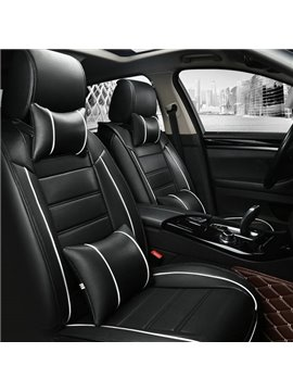 High-Grade Super Smooth Durable PVC Leather Fashion Design Universal Car Seat Cover