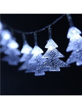Simple Creative Christmas Tree Pattern Decorative 6.56 Feet Battery LED String Lights