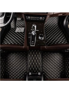 Special Customized For Specific 5 Seater Models Super Popular Cost-Effective PU Leather All Surrounded Type Car Carpet