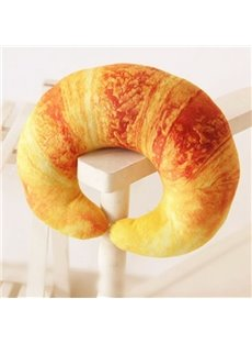 Super Soft Vivid Croissant Design U-shaped Pillow