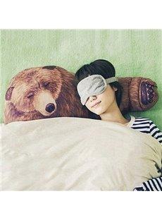 Creative Bear Design Boyfriend Folding Throw Pillow