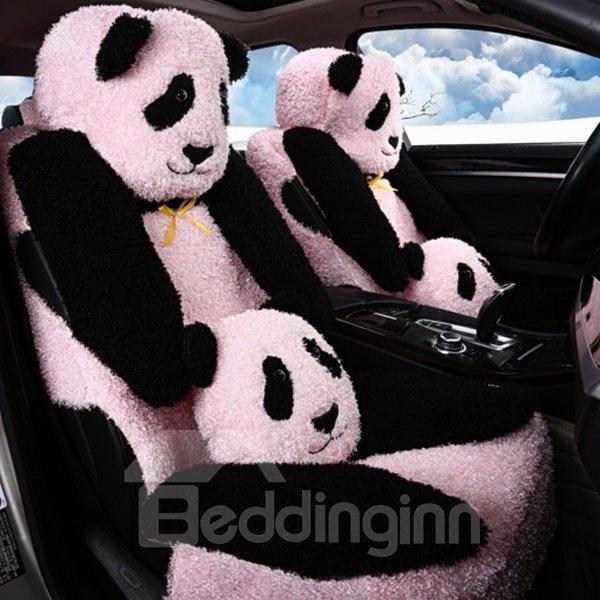 Lovely And Cute Panda Pattern Design Winter Warm Plush