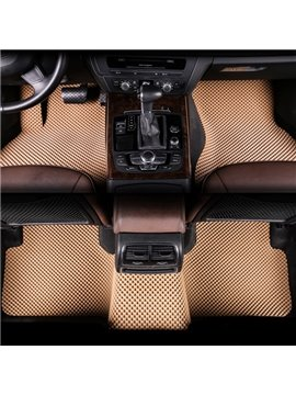 Matched The Vehicle Interior Perfectly Beige Style Dedicated Customed-Made Car Carpet
