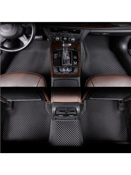 Classic Cool Black Style With Friendly-Environment PVC And Durable Emulsion Custom-Made Car Carpet