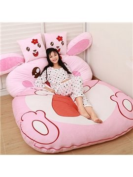 Lovely Soft Rabbit Design Lazy Sofa Tatami Seat