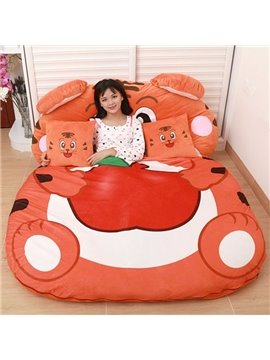 Super Soft Cute Tiger Lazy Sofa Tatami Seat