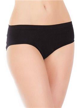 High Elasticity Temptation Black Sexy Buttocks Hole Design Attractive Underwear
