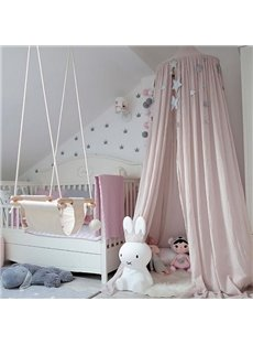 Stunning Signature Cotton Fabric Pink Kids Canopy
