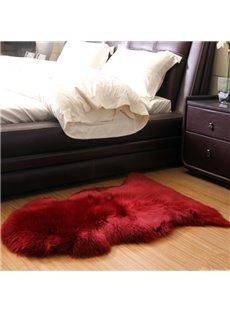 Natural Moistureproof and Dampproof 1 Piece Home Decorative Woollen Area Rug