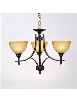 American Country Style Iron Home Decorative Pendant Light
