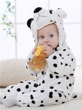 Cute Super Soft Snow Leopard Design Baby Costume