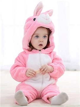Super Cute Soft Cartoon Rabbit Design Baby Costume