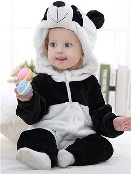 Adorable Super Soft Panda Design Baby Costume