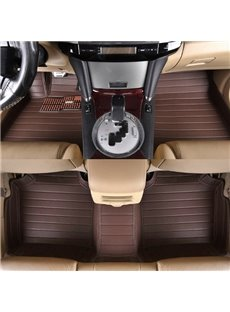 Super High Grade Luxury PVC Leather Dedicated Custom-Fit Car Carpet