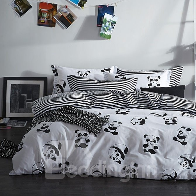 Panda Bed Sheets Set