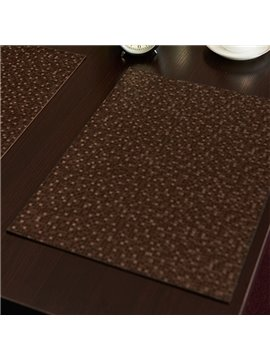 Fastness Fabric Rectangle Home Decorative Polyurethane Stain Resistant Table Placemat