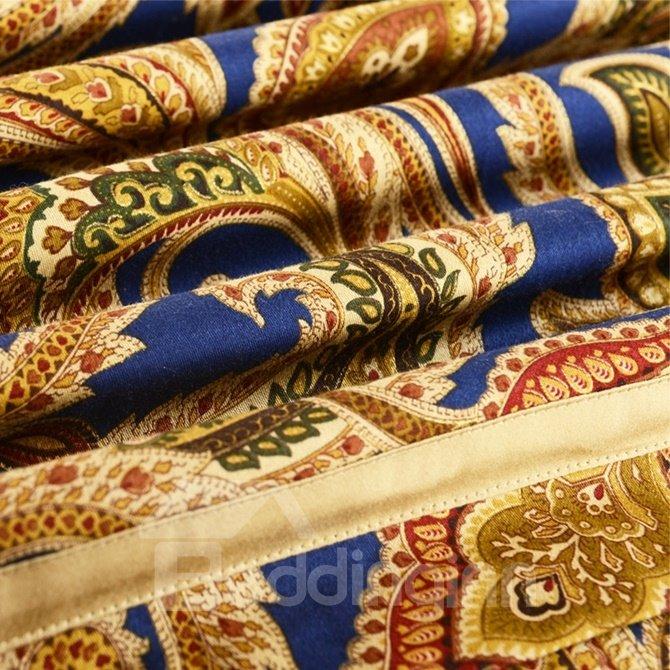 Retro Style Paisley Park Print 100 Egyptian Cotton 4