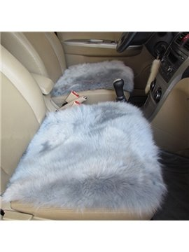 New Long Wool Material Winter Warm Cost-Effective Single Car Seat Mat