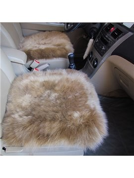 Super Popular Winter Warm Wool Soft Comfortable Single Car Seat Mat